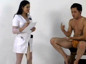 医生,护士,捆绑式假阴茎