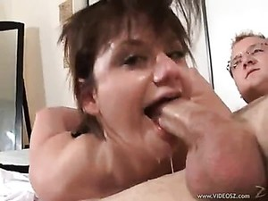 Messy Blowjob With Lots Of Gagging