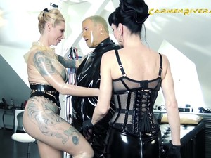 Bondage And Torture Is Not A New Experience For Carmen Rivera