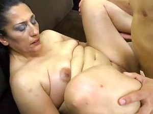 Granny Cought Boy Jerking