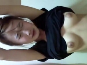 Window Voyeur On Korean Girl Showering