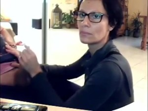 Real Mom On Webcam