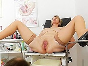 Old Pussy Exam Ester