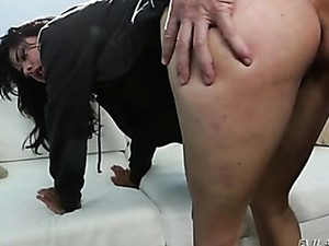 Fucked In Her Naughty Ass And Sucking Dick