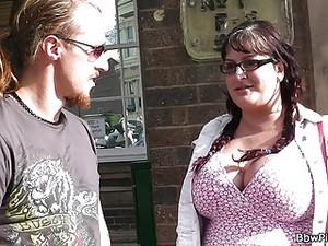 BBW Tourist Picked Up By Street Hooker