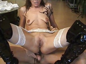 Saggy Tits Granny Getting Dirty