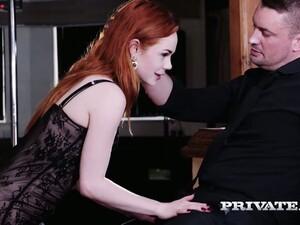 Penis,Kızıl saçlı