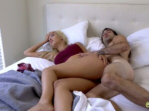 Slutty Blonde Sophia Grace Is Having Dirty Sex With Her Arrogant Stepbrother