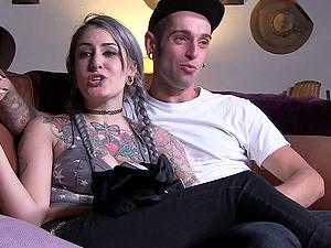 Fun Behind The Scenes Action With Punk Pornstar Chicks