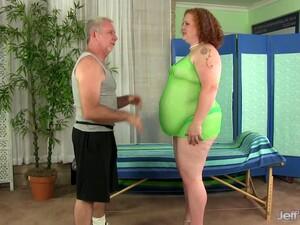 Fat Redhead Has Her Fleshy Body & Cunt Massaged