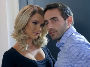 Lucky Guy Bangs Hot Babes Adriana Chechik And Emma Hix In Threesome