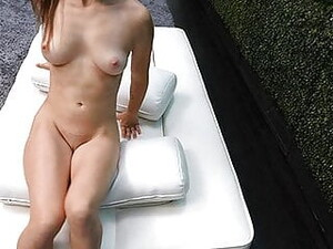 Petite Spinner Willing To Fuck To Get In Our Calendar