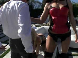 Salacious Blonde Mommy Anikka Albrite Fucks India Summer And James Deen