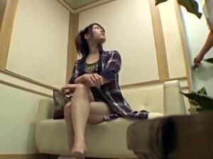 Japonais Parfait Frappé En Vidéo De Massage Voyeur