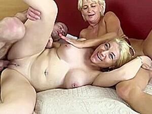 Sex in trei,Tate mari,Blonde,Mature,Polonez