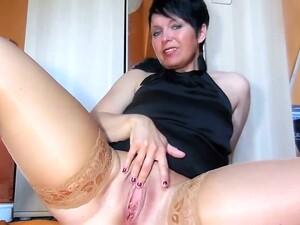 Große klitoris,Klitoris,Nippel,Nylon