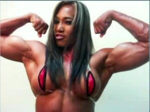 Huge Thai Muscle Babe