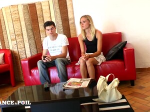 La France A Poil - Sexy Young Blonde Gangbanged And Cum