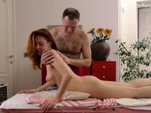 A Naughty Massage From A Mature Masseur And That Teen Is So Lovely