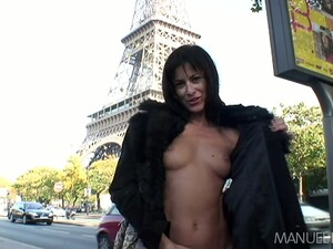 Exhibitionist Cecilia Vega Is Flashing Her Tits And Taking Dick In Her Petite Butt Hole