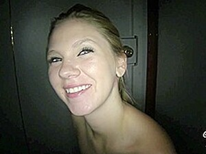Natalie Has Fun In A Gloryhole Session