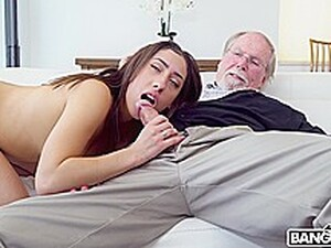Kira Perez - Kira Gets Pounded By Grandpa