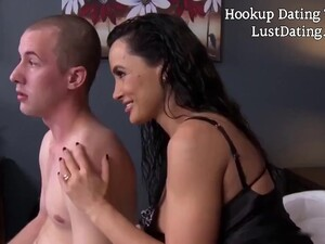 Lisa Ann Is A Busty Cougar Who Never Says No To A Casual Fuck With Younger Guys