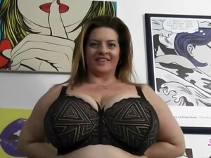 Big Titted Woman, Maria Moore Is Spreading Up Wide To Get Fucked, While Her Husband Is Busy