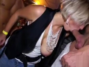 Blonde Young Whore Swinging Boobs Fucked By Black Waiter Doggystyle
