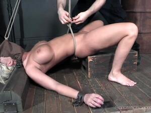 BDSM,Gros seins,Blond,Bondage,Fétichisme