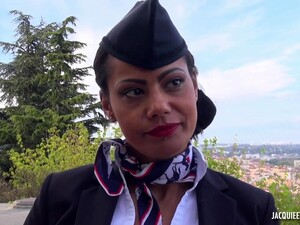 Clelie Is A Smashing, French Flight Attendant Who Is Too Busy Fucking To Go To Work