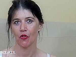 La France A Poil - Angelina, 45 Yo Mature, Gets Double