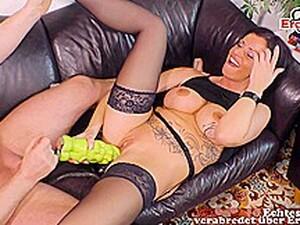 Dildo,Alman porno,Büyük dildo,Canavar