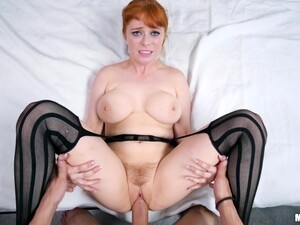 Redhead Penny Pax Enjoys Riding A Dick While Her Tits Bounce