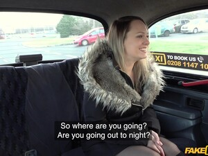 Fucking In The Back Of The Fake Taxi With Provocative Blue Angel