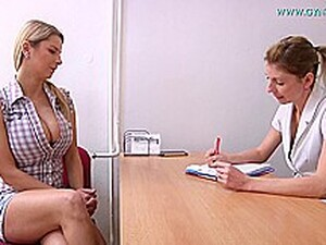 Mind Blowing Blonde Czech Babe Enjoys This