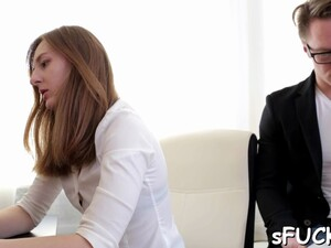 Raunchy Girlfriend Ariadna Gets Nailed Nicely