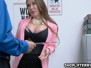Sexy Cougar Bianca Burke Got Drilled For Stealing