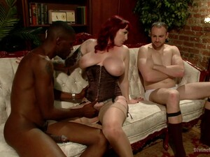 Cuckold Husband Jerks Off While Watching Wife Fucking With A BBC