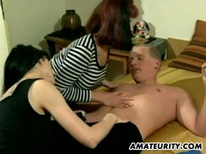 Amateur Threesome Action With A Delicious Bunny In Here