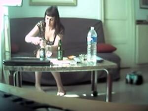 Sarhoş,Gizli kameralar,Ev kadını