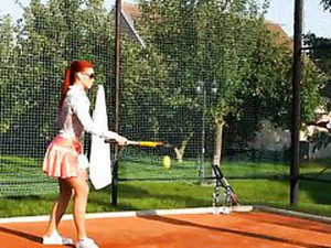 Catfight Between Pissed Off Wetlook Badminton Babes