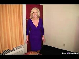 Milf Hates Her Husband So Decides To Jerk His Son