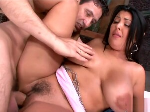Foxy Diva Jaylene Rio With Impressive Natural Tits Gets Screwed