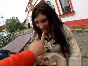 Mature Busty European Girl Gives Blowjob For Cash