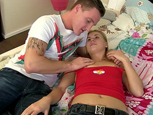 A Cutie Sneaks A Guy Into Her Dorm So She Can Get Fucked