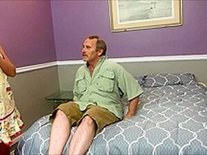 Horny Stepmom Fucks Ugly Dad And Son At The S