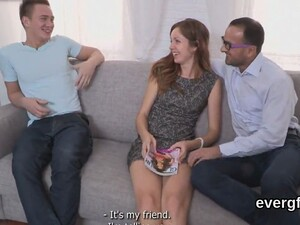 Dirt Poor Bf Lets Hot Buddy To Ride His Gf For Cash
