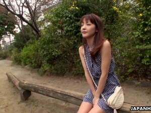 Yummy Asian Chick Nami Honda Gives A Blowjob On The First Date