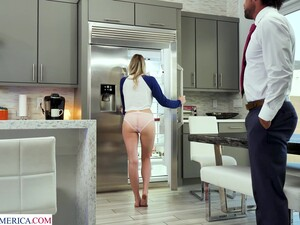 Stepdaughter Teasing Her Stepdad And She Clearly Wants His Dick Inside Of Her